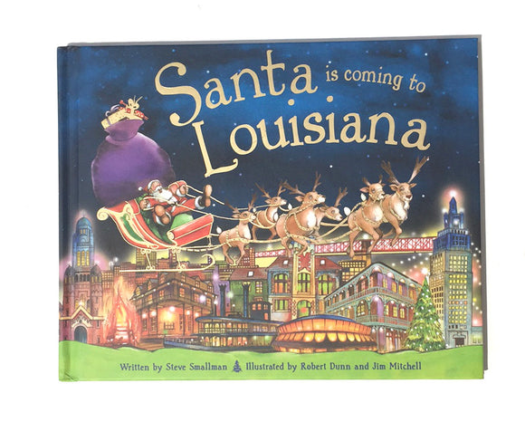 Book - Santa is Coming to Louisiana