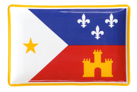 Trinket Dish - Acadiana Flag