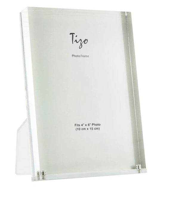 Lucite Clear Frame - 4x6