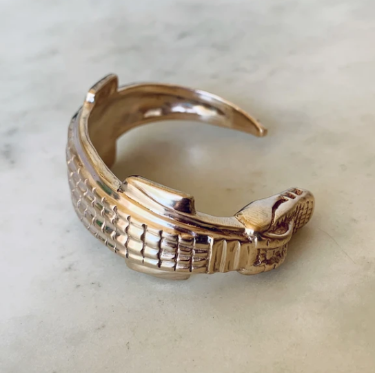 Cuff Bracelet - Small Alligator