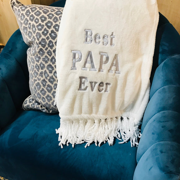 Blanket - Best Papa Ever