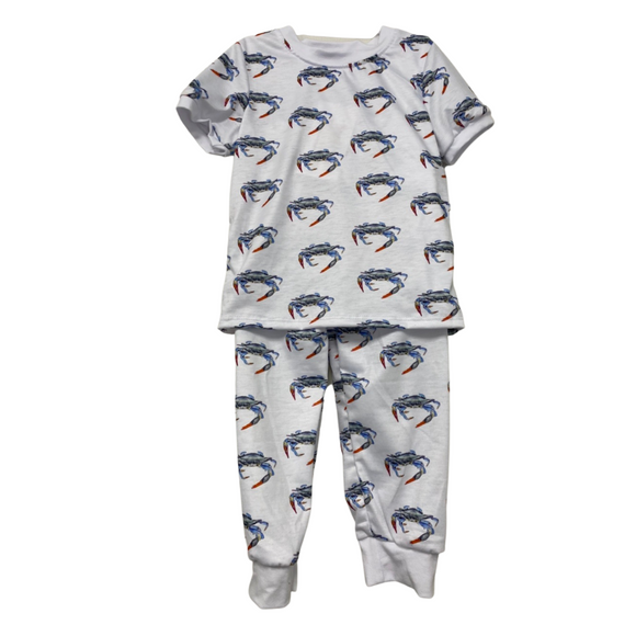 Blue Crab Pajamas - Set