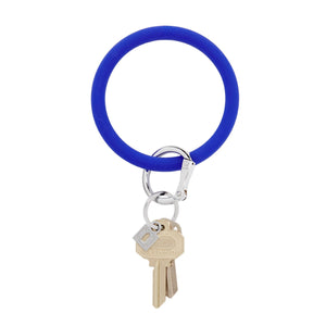 Big O Key Ring Silicone - Blue Me Away