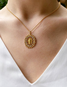 VSA Necklace - Bringing Her Home (Gold)