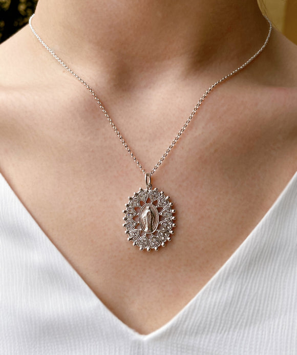 VSA Necklace - Bringing Her Home (Silver)
