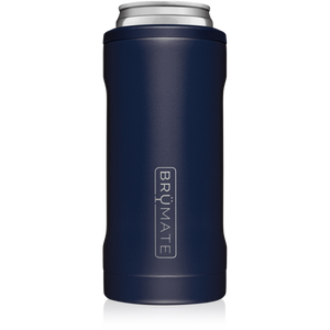 Brumate Slim Can Cooler  - Matte Navy