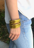 BuDhaGirl All Weather Bangles - Gold