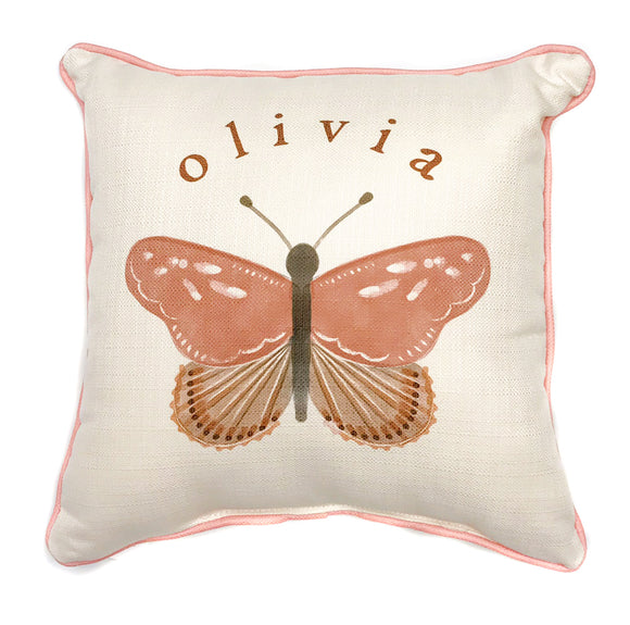 Name Pillow - Butterfly