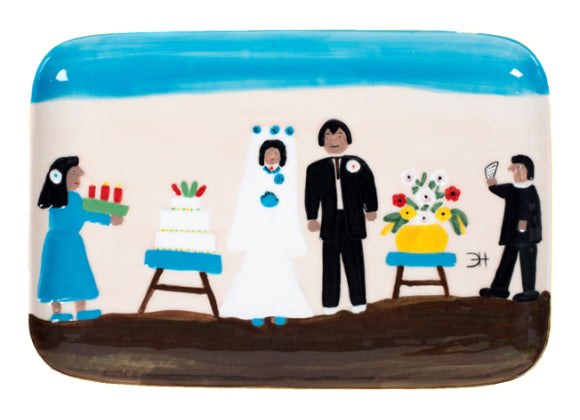 Clementine Hunter Ceramics - The Wedding