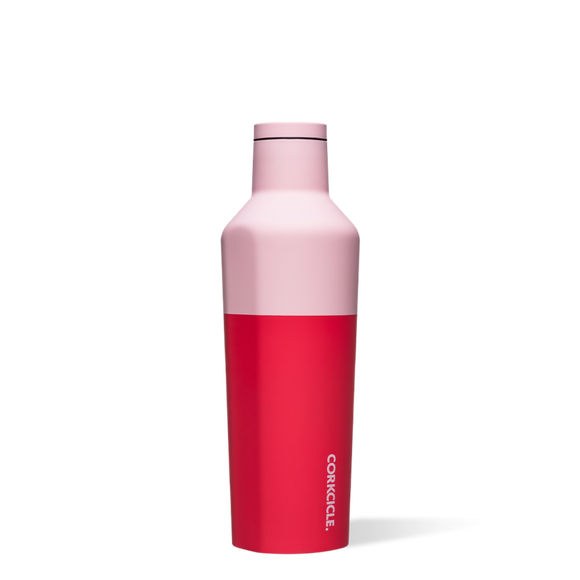 Corkcicle Color Block Canteen - Shortcake