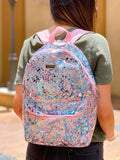 Clear Confetti Backpack - Sugar Rush