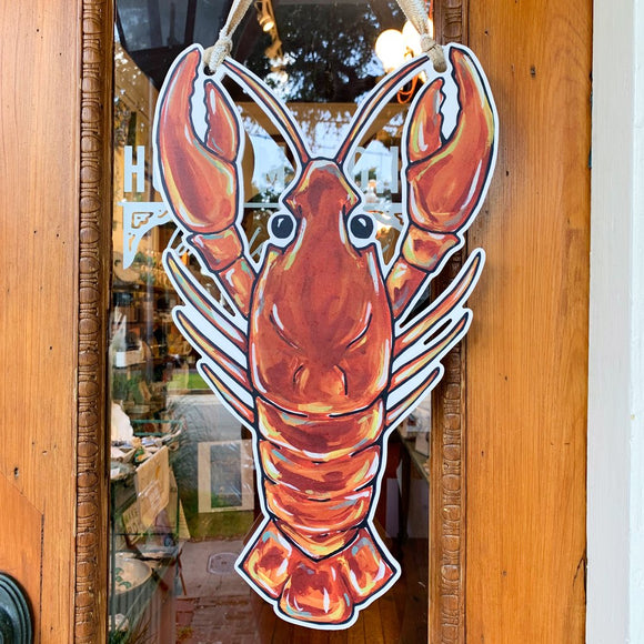 Door Hanger - Crawfish