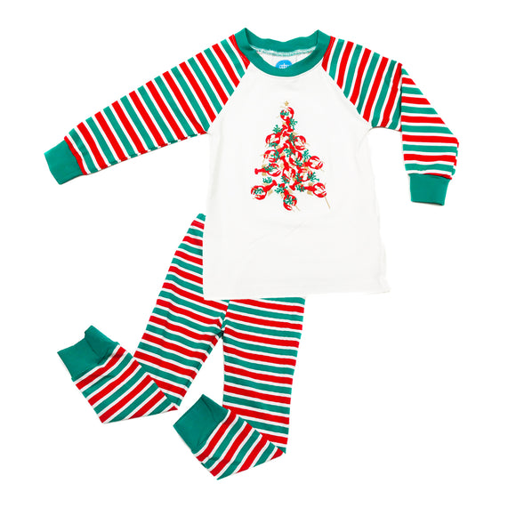 Christmas Pajamas - Crawfish Christmas Tree