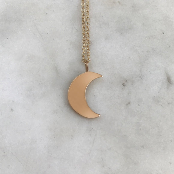 Necklace- Crescent Moon