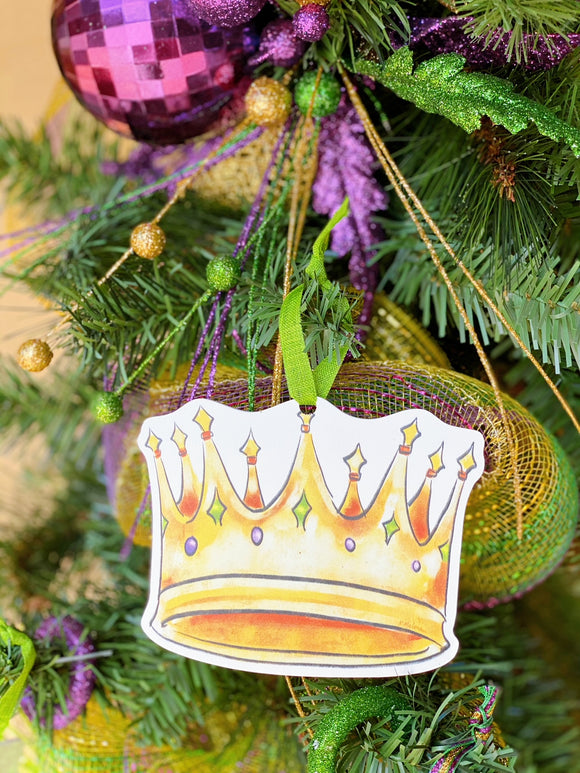 Ornament - Mardi Gras Crown