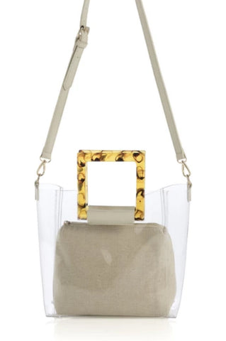 Clear Purse - Ivory Deveraux