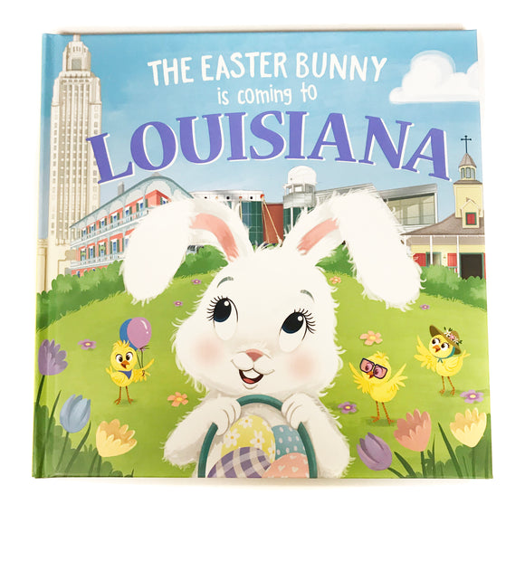 Book - The Easter Bunny is coming to Louisiana