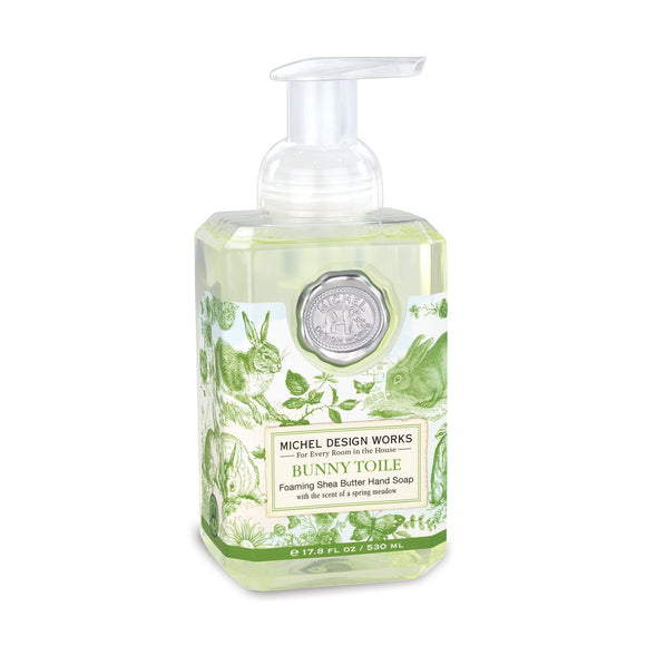 Foaming Hand Soap - Bunny Toile