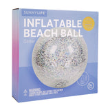 Inflatable Glitter Beach Ball