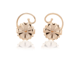 Levears Earring Lifts -Gold Plated Sterling Silver