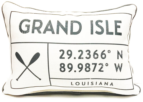 Pillow - Grand Isle, LA