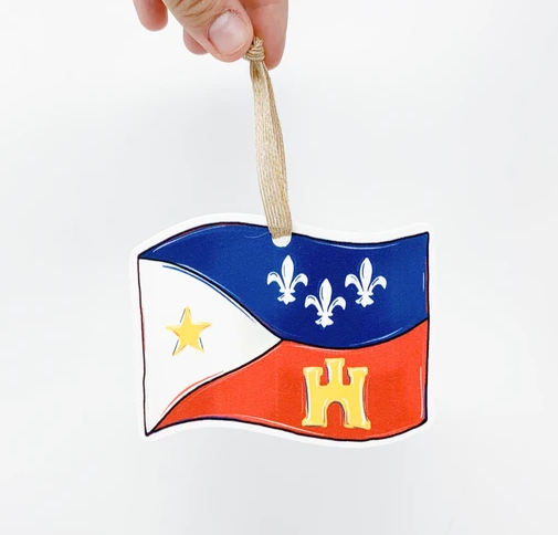 Ornament - Acadian Flag