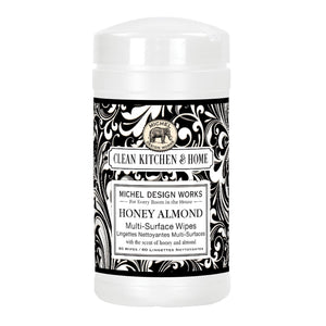 Multi-Surface Wipes  - Honey Almond