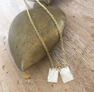 Necklace - Mother of Pearl Scapular