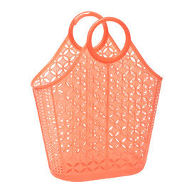 Sun Jellies Atomic Tote - Neon Orange