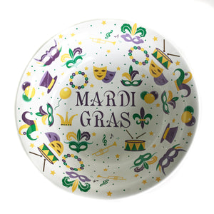 Mardi Gras Large Bowl