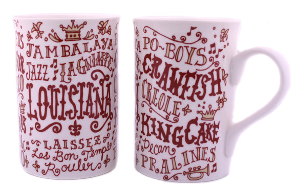All About Louisiana Mug