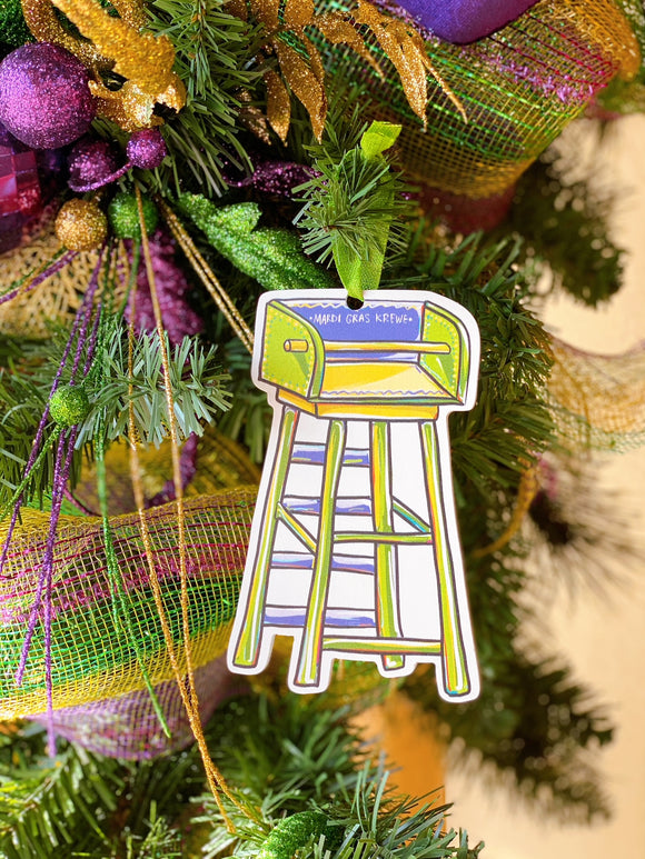 Ornament - Mardi Gras Ladder