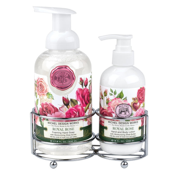 Hand Care Caddy Set - Royal Rose