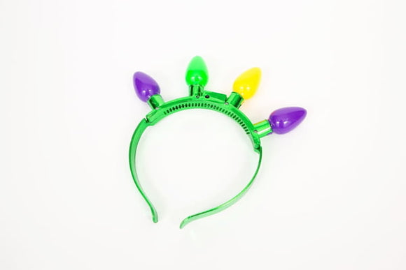 Mardi Gras LED Headband