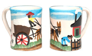 Clementine Hunter Mug - Cotton Mural