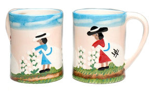 Clementine Hunter Mug - Cotton Picking