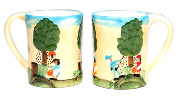 Clementine Hunter Mug - Pecan Picking