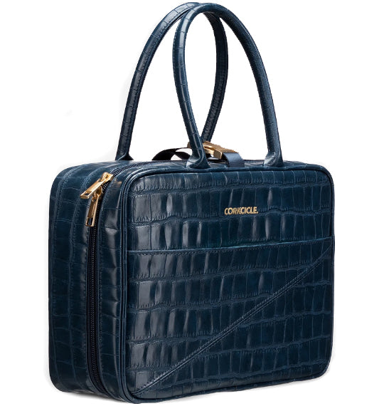 Corkcicle Baldwin Boxer Lunchbox - Navy Croc