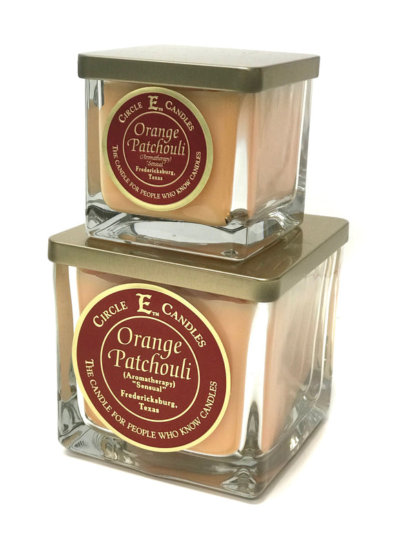Circle E Candles - Orange Patchouli
