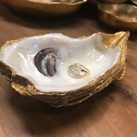 Oyster Shell Trinket Dish