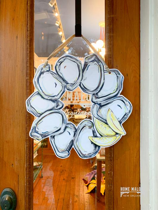Door Hanger - Oyster Wreath