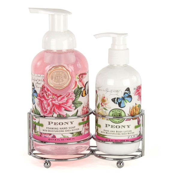 Hand Care Caddy Set - Peony