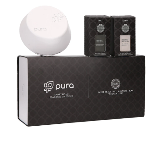 Pura Smart Home Diffuser - Sweet Grace / Afternoon Retreat Set