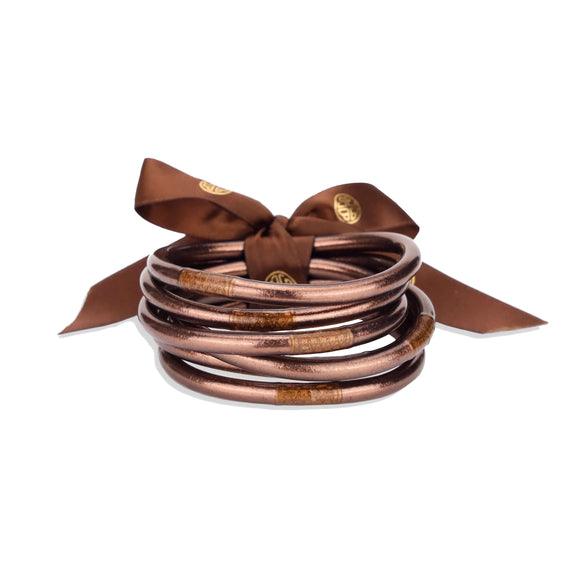 BuDhaGirl All Weather Bangles - Meterorite