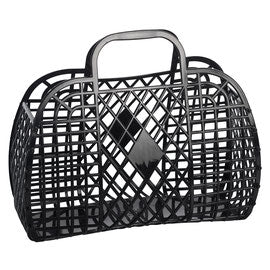 Sun Jellies Retro Basket - Black