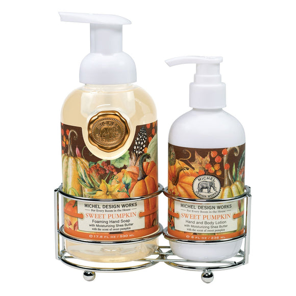 Hand Care Caddy Set - Sweet Pumpkin