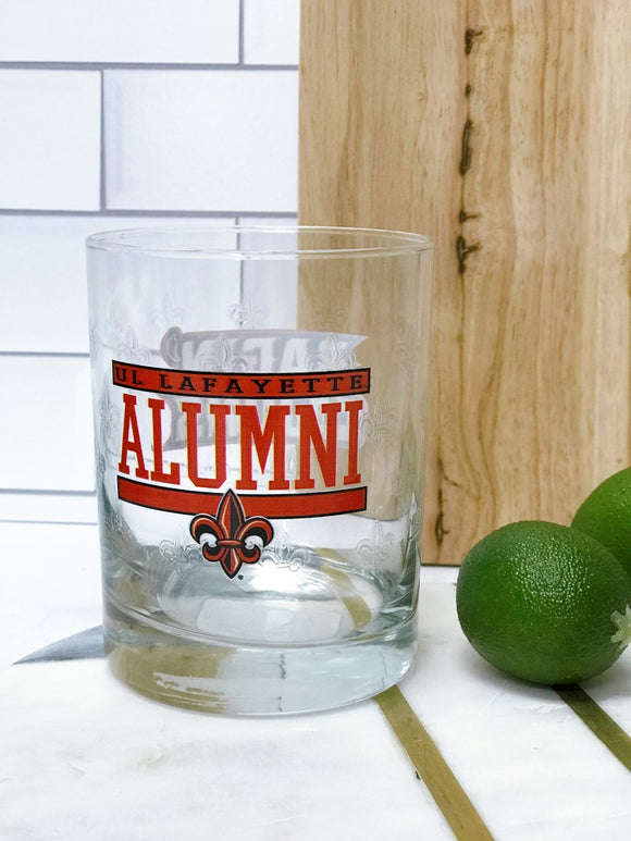 UL Rocks Glass - ALUMNI