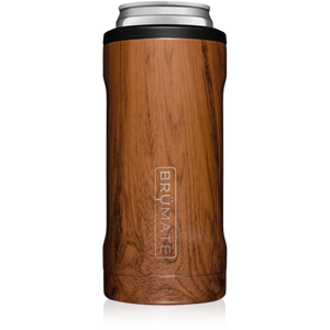 Brumate Slim Can Cooler - Walnut
