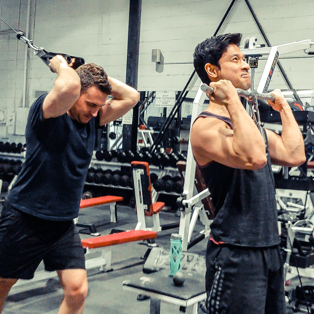 Get the benefits of working with a personal trainer and the camaraderie of working out with a partner.