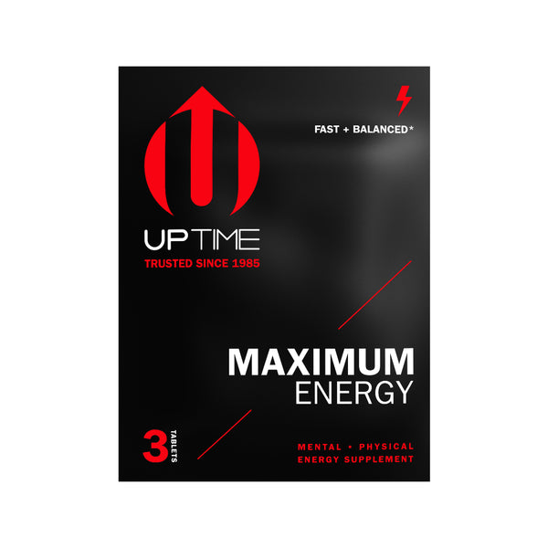 Maximum Energy Tablets - 3ct. Sachets (Case of 24 Sachets)